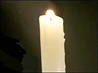 Church candle