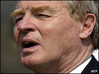 Former High Representative in Bosnia, Paddy Ashdown
