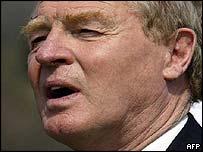 Former High Representative in Bosnia, Paddy Ashdown