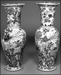 Qing vases from Fitzwilliam Museum