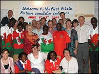People from Pontypridd meeting people from Mbale