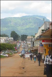 View of Mbale