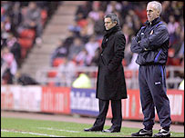 Jose Mourinho and Mick McCarthy