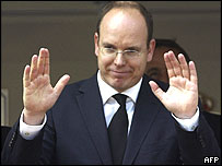 Prince Albert II of Monaco. File photo