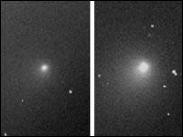 Comet Tempel 1, Faulkes Telescope