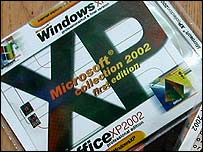 Pirated Windows CD