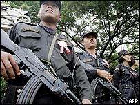 Police in Burma