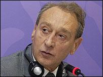 Bertrand Delanoe, mayor of Paris