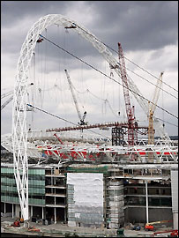 The finals of the football tournaments will be held at Wembley