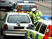 Police car check, Operation Debar