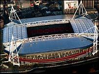 The Millennium Stadium, Cardiff