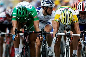 Tom Boonen and Robbie McEwen