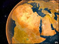 Africa globe (SPL)