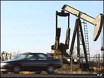 Oil derrick