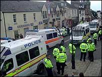 Police in Auchterarder