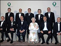 G8 leaders pose for photographs with The Queen and The Duke of Edinburgh
