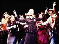 Elaine Paige in Evita in 1978