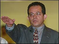 Nuevo Laredo police chief Omar Pimentel
