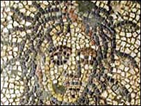 The mosaic at Brading