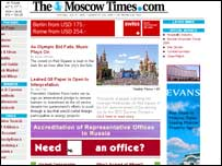 The Moscow Times online