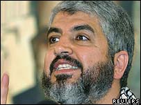 Hamas politburo head Khaled Meshaal