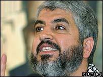 Hamas politburo head Khaled Meshaal