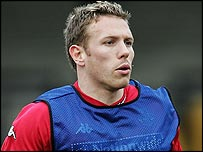 Newcastle striker Craig Bellamy