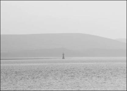 The lighthouse taken from Burry Port (Martin Hanson)