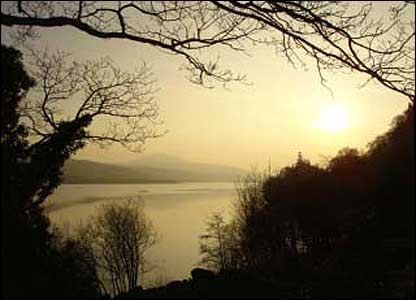 Llyn Tegid at Bala, as captured by Richard Huws from Ceredigion