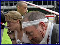 Раненный в лондонском взрыве