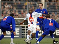 Action from the recent Lyons-Grenoble cup match