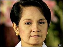 Philippine President Gloria Macapagal Arroyo