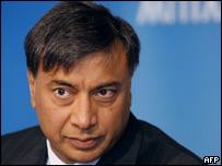 Lakshmi Mittal, chief executive and chairman of Mittal Steel
