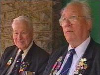 Bert Dawe and Emrys Davies