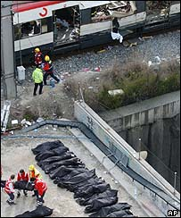 Madrid train bombing, March 2004