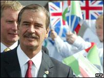 Presidente de México, Vicente Fox