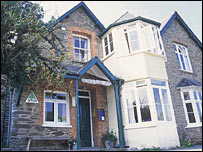 Lynton youth hostel in Devon