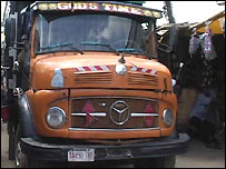 Truck in Nigeria