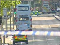 Bus on Princes Street
