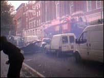 The bus blast