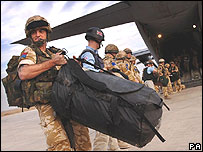 UK troops in Iraq