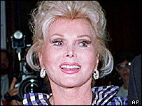 Zsa Zsa Gabor (pictured in 1989)