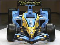 Renault's new R26 car