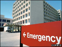 US emergency room