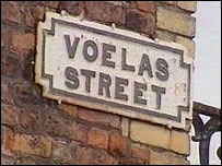 One of the Welsh streets in Liverpool