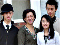 Left to right: Anthony Fung, Karen Kwong, Sumye Fung, Stanley Fung