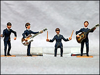 Subbuteo Beatles set