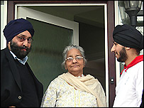 Left to right: Anup Singh Choudry, Narinder Chowdhary and Satvir Singh Choudry