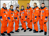 STS-114 crew members (Nasa)
