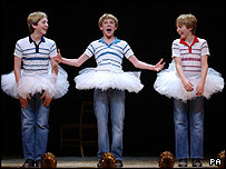 The stars of Billy Elliot